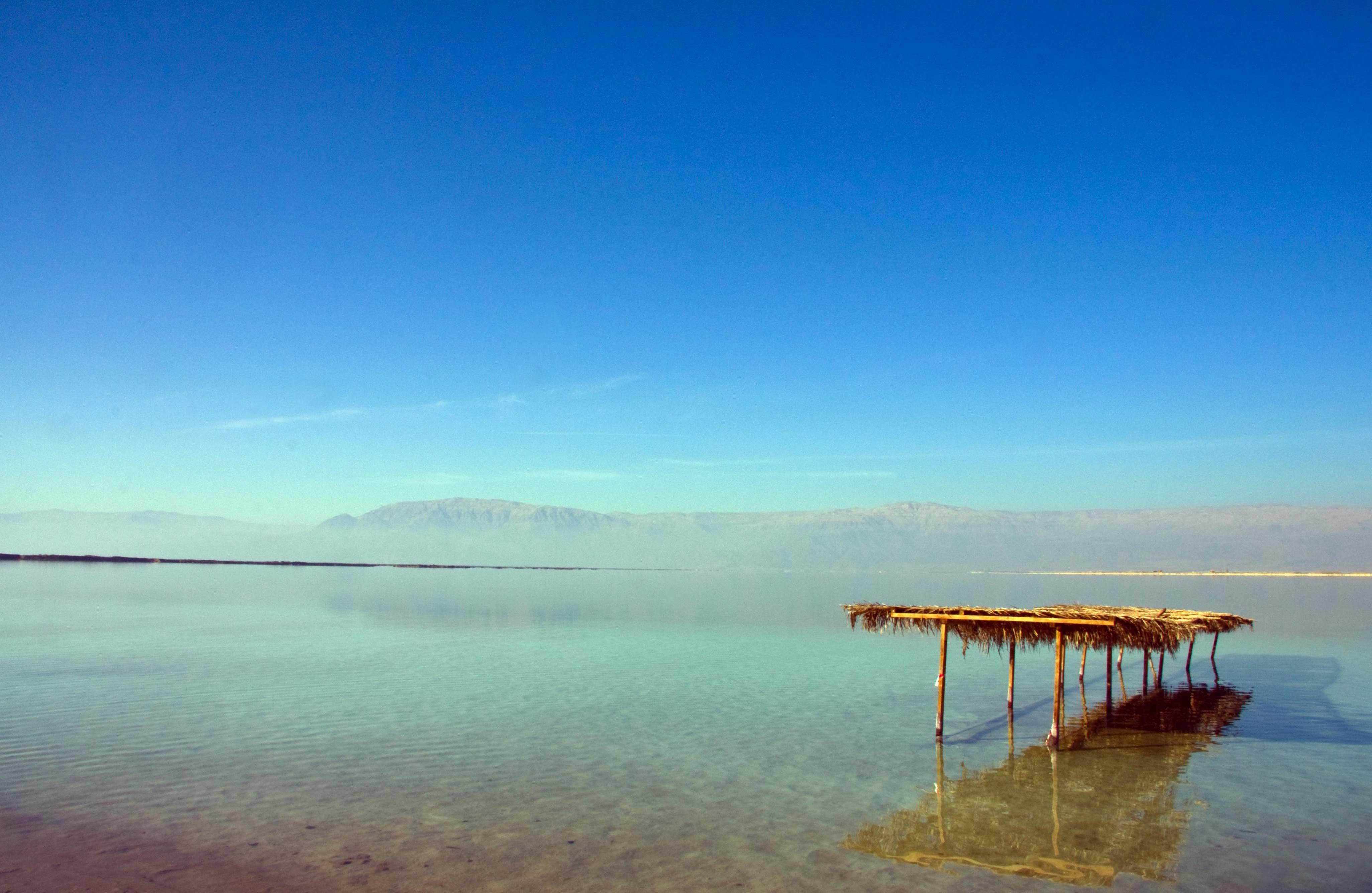 Красивое и оздоравливающее Мертвое море