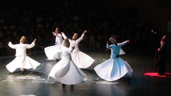 Фестиваль Мевланы в Турции
