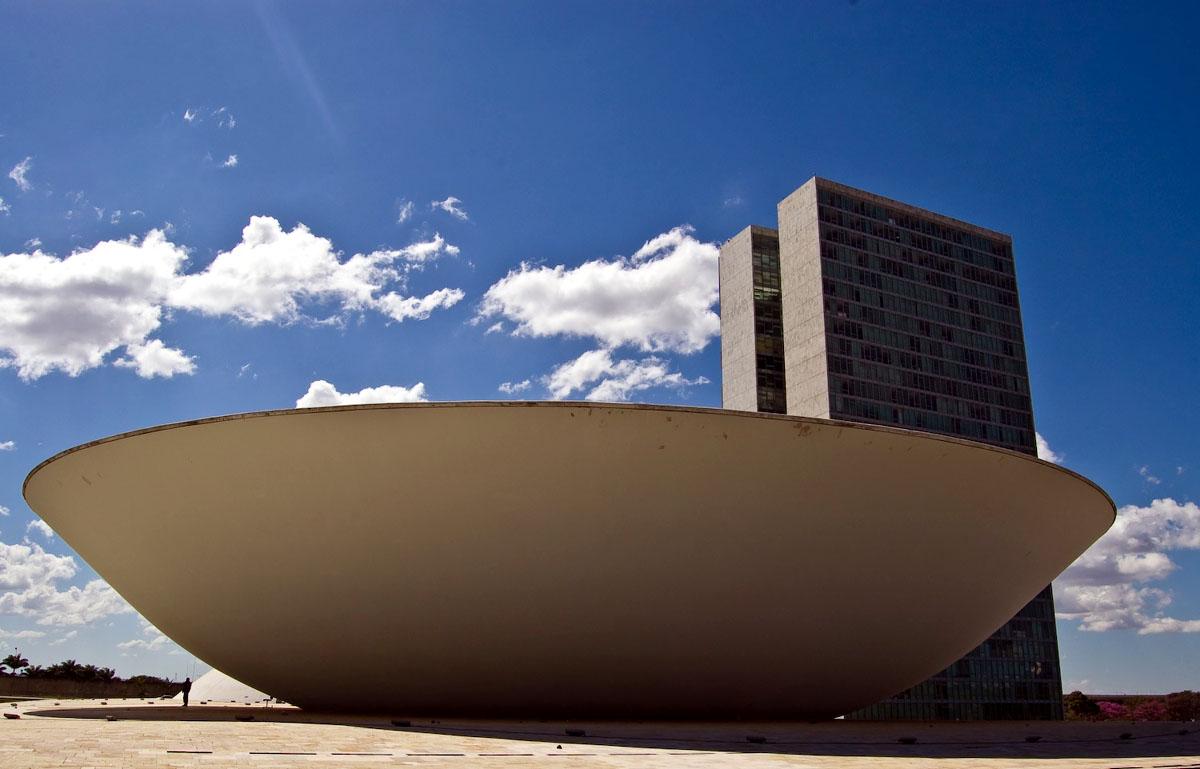 Архитектурные достопримечательности города Бразилия