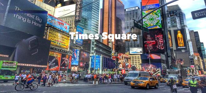 Прогулка по легендарному Таймс-Сквер