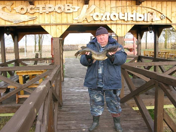 Остров Колочный — раздолье для любителей рыбалки