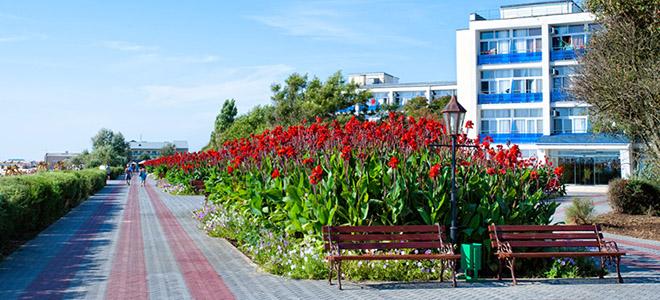Лечебно-оздоровительный отдых: Крым