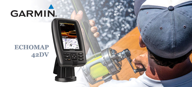 Эхолот картплоттер garmin echomap 42dv — в помощь рыбакам