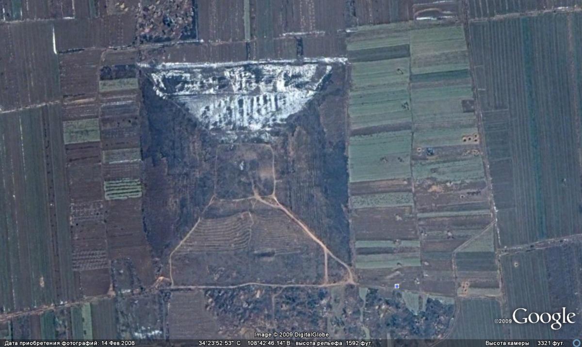 Китай - родина гигантских пирамид?