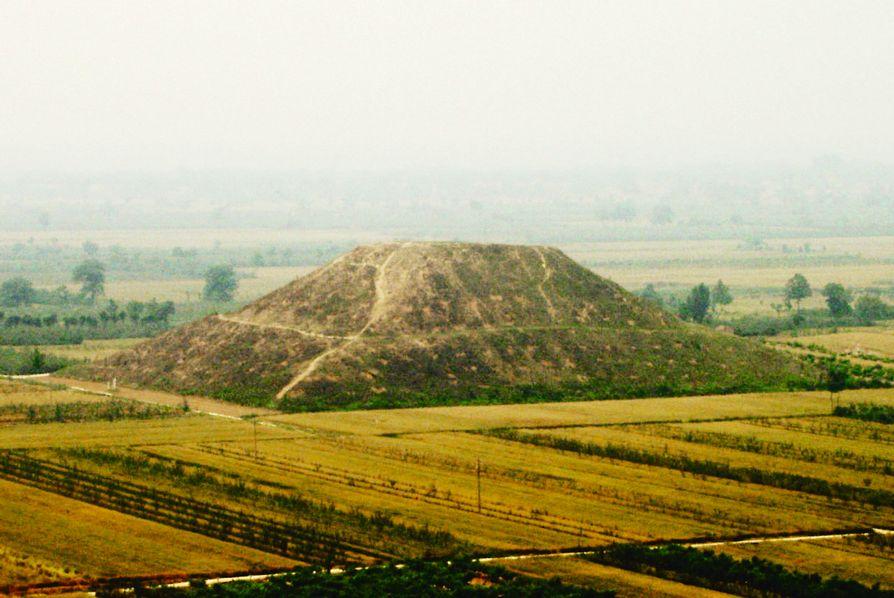 Пирамида в Китае