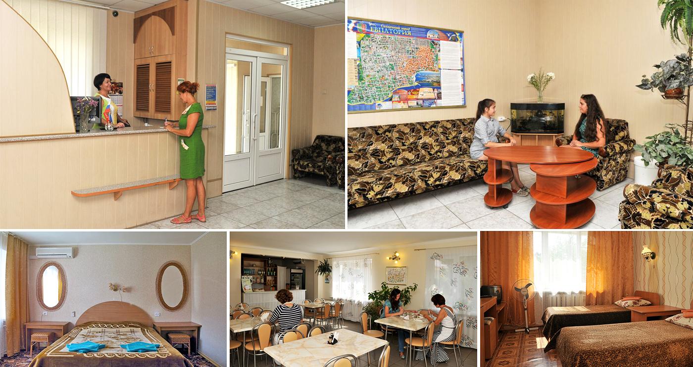Мини-отель «Апогей» в Евпатории