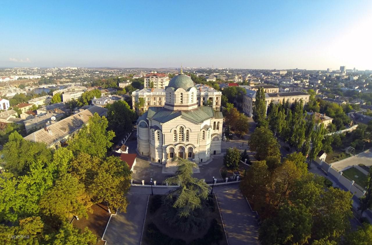 Адмиралтейский Владимирский собор в Севастополе