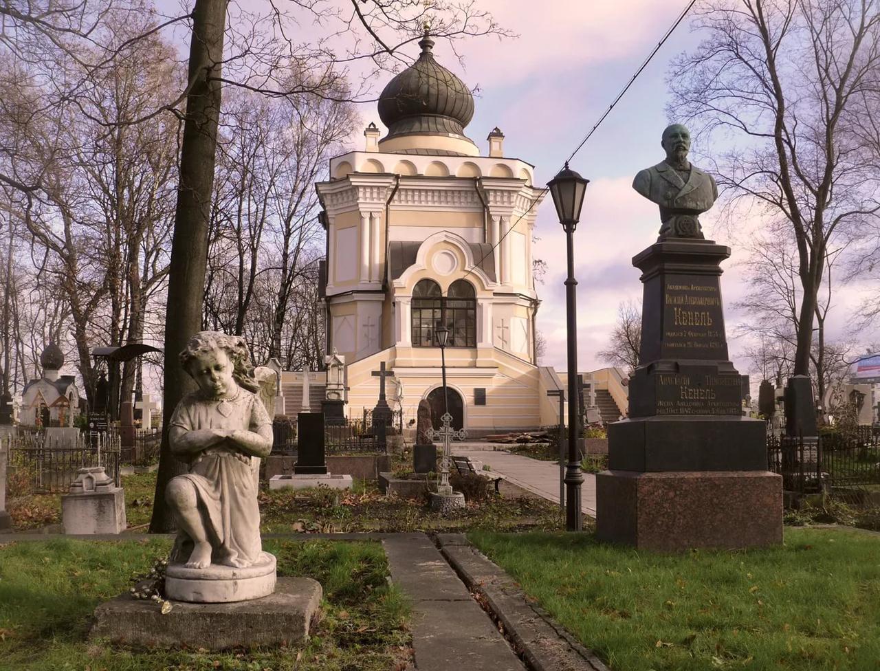 Некрополь. Александро-Невская Лавра, Петербург, кладбище