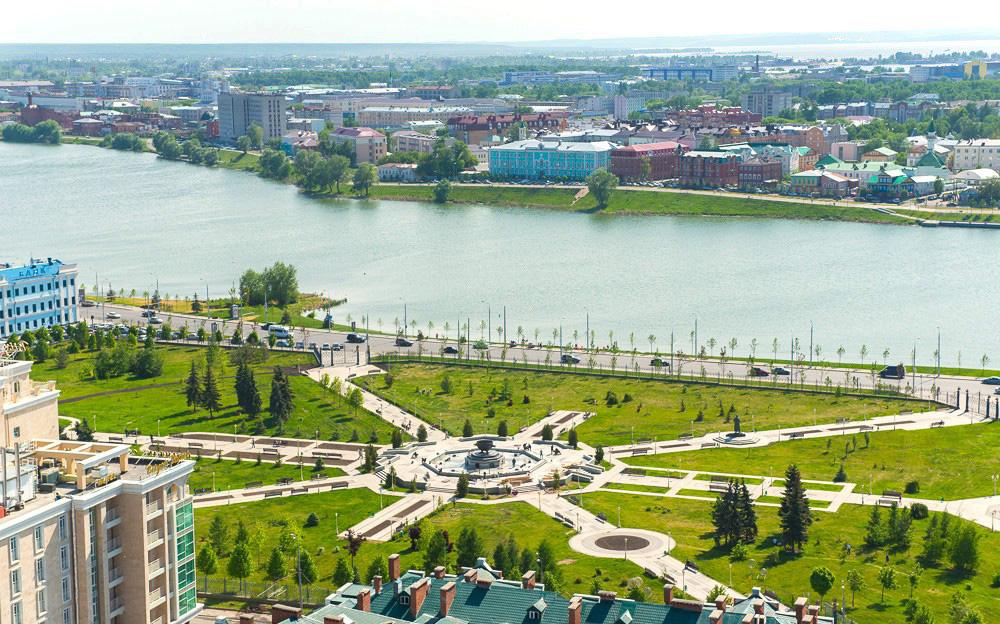 Парк «Миллениум» - построен в честь тысячного дня рождения столицы Татарстана